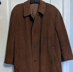 Luxurious Canali woolen overcoat